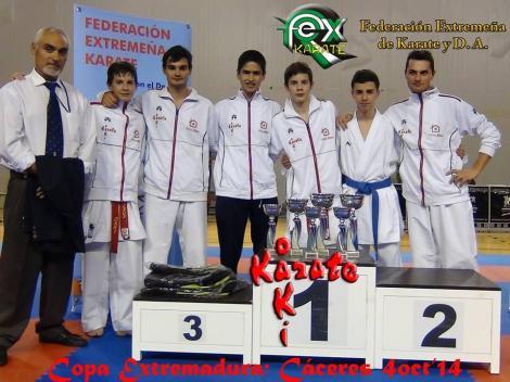 Copa de Extremadura de Karate 2014