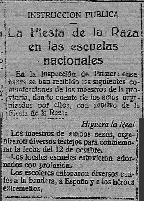 FIESTAS PILAR 1923