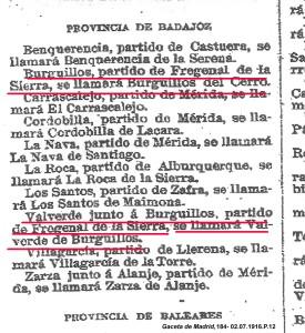 CAMBIO NOMBRES 1916