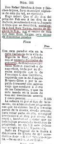 SUBASTA CALLE CARRETERA 18 SF