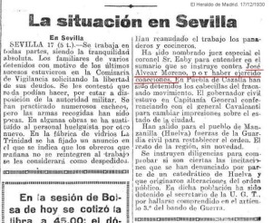A JOSÉ ALVEAR C.N.T.1930