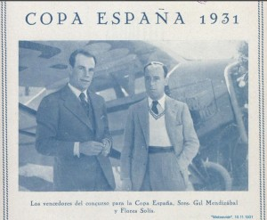 avioneta copa españa 1931