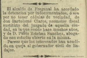 Bartolomé Claros y Pablo Esteban BLOG